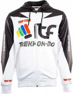 Bluza z kapturem Taekwon-do ITF